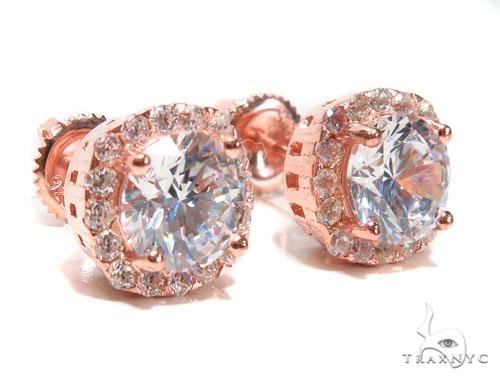 Sterling Silver Earrings 41305 Metal