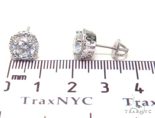 Sterling Silver Earrings 41306 Metal