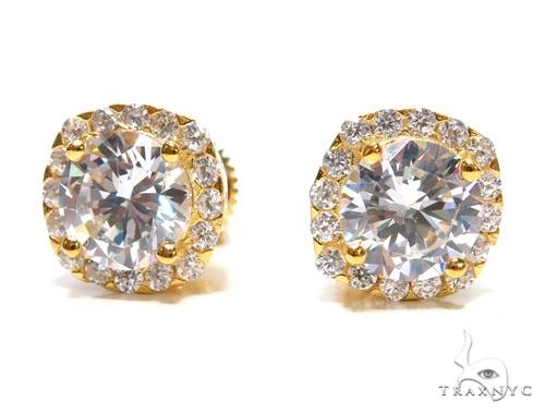 Sterling Silver Earrings 41307 Metal