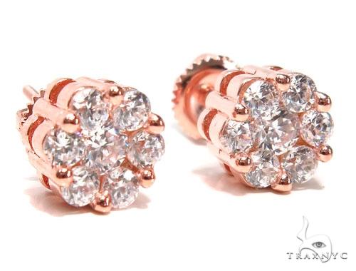 Sterling Silver Earrings 41308 Metal