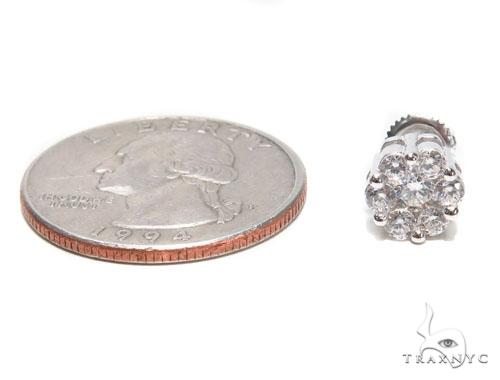 Sterling Silver Earrings 41309 Metal