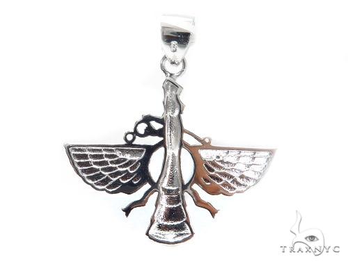 Sterling Silver Pendant 42867 Metal