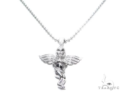 Sterling Silver Pendant 42888 Metal
