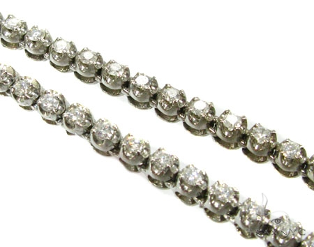 Super Iced Diamond Chain 31 Inch, 4mm, 45 Grams Diamond