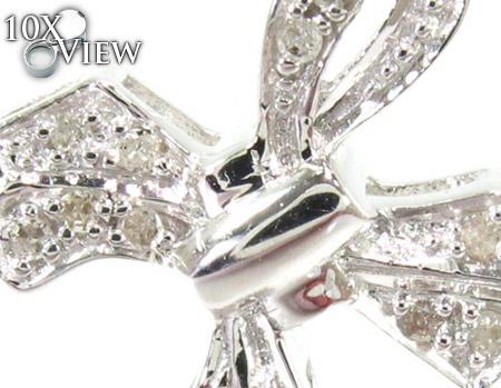Swag Silver Diamond Cross Style