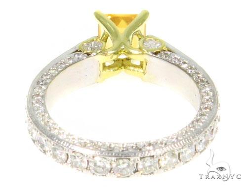 Diamond Citrine Gemstone Ring 44514 Anniversary/Fashion
