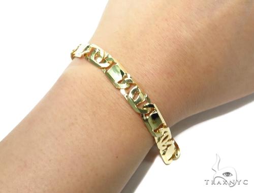 Tiger Eye Gold Bracelet 41929 Gold