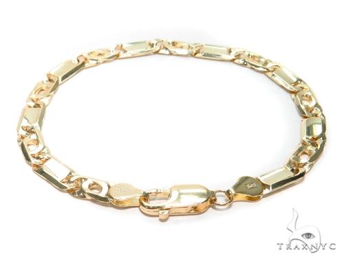 Tiger Eye Gold Bracelet 41931 Gold