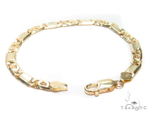 Tiger Eye Gold Bracelet 41931 Gold