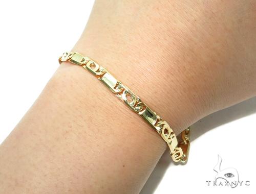 Tiger Eye Gold Bracelet 41932 Gold