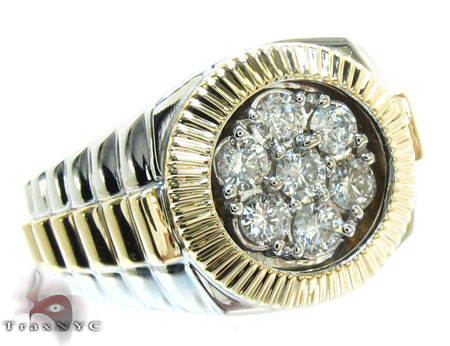Timepiece Solitaire Ring Stone