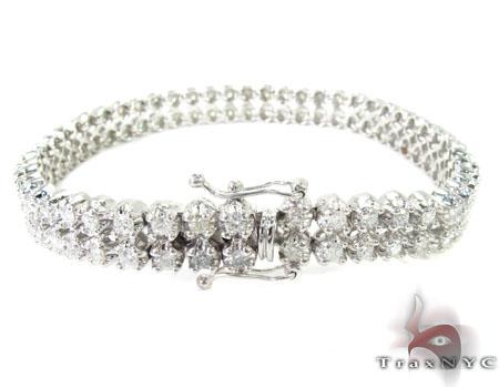 Toni 2 Row Bracelet Diamond