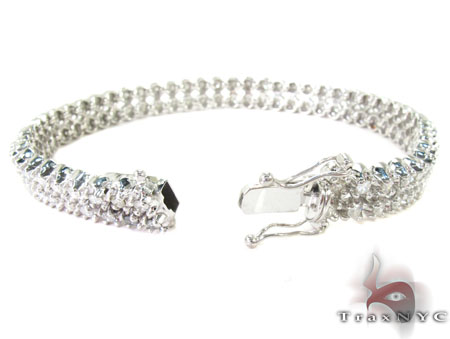 Toni 2 Row Bracelet Diamond