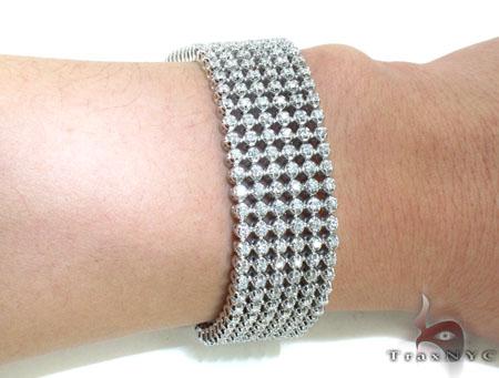 Toni 6 Row Bracelet Diamond