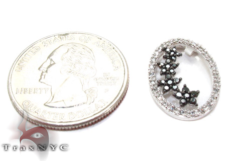 Two Color Diamond Pendant 28272 Stone