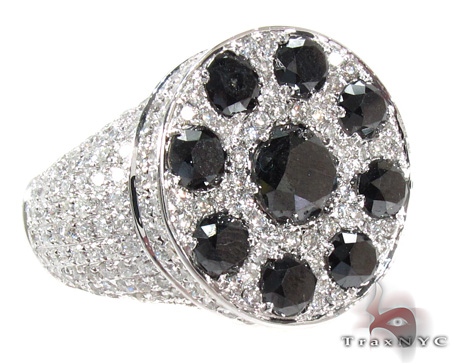 Two Color Diamond Ring 28299 Stone