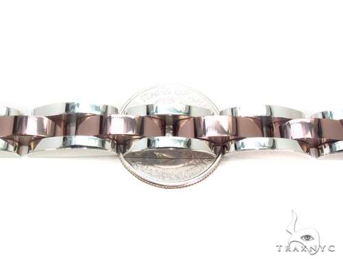 Two Tone Stainless Steel Bracelet Stainless Steel