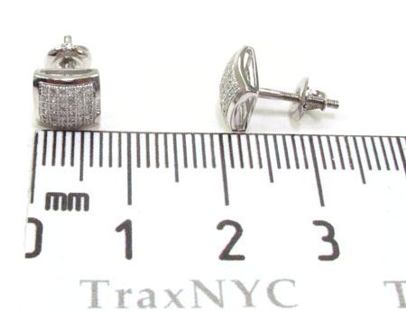 Mens Diamond Earrings 21668 Stone