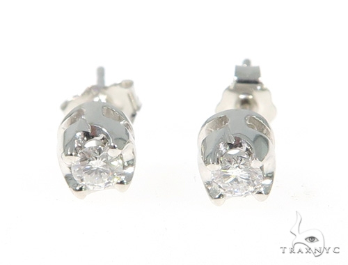 VS2 Diamond Stud Earrings 49432 Stone