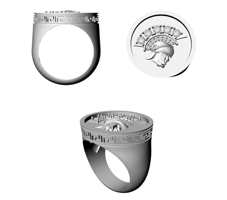 Warrior Ring Stone