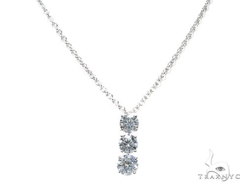 Waterdrop Diamond Necklace 42310 Diamond