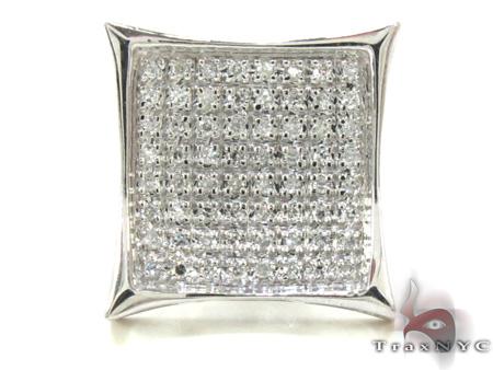 Mens Diamond Single Earring 21349 Stone