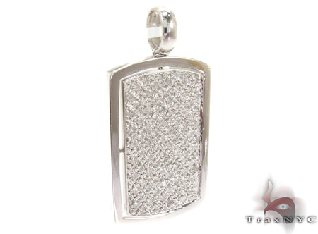 White Gold Pendants Style