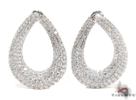 Esmeralda Diamond Chandelier Earrings 23970 – Black Diamond Chandelier Earrings