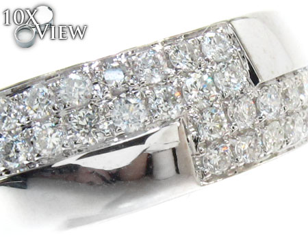 White Gold Round Cut Prong Diamond Ring Stone