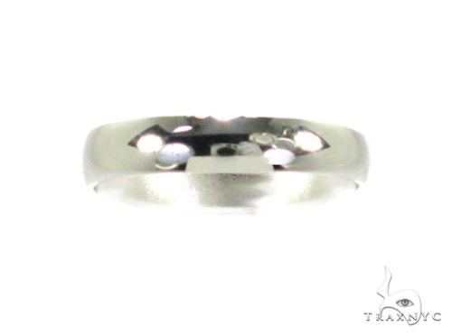 White Gold Solid Band 2 Wedding