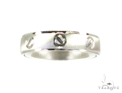 White Gold Solid Band Style