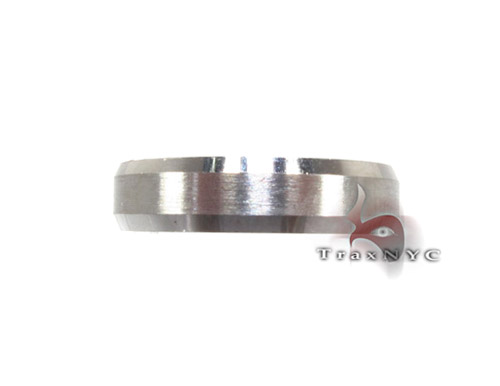 White Gold Tri Band Style