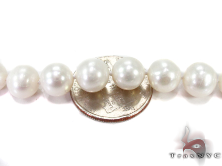 White Pearl Ladies Nacklace 27359 Pearl