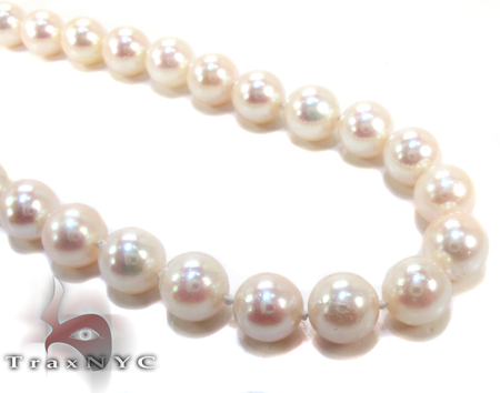 White Pearl Necklace 27182 Pearl