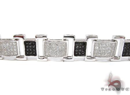 White Rhodium Silver Bracelet Silver