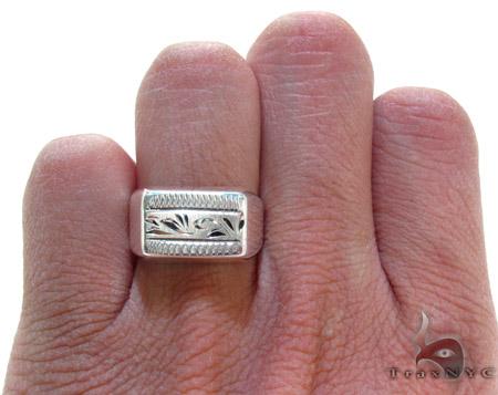 Mens Affordable Honor Ring Metal