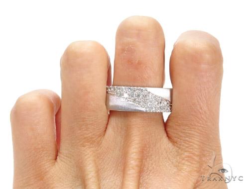 Wrap Wedding Band Stone