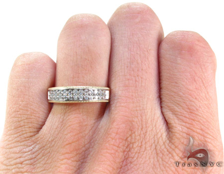 10K Gold His & Her CZ Ring Set 25282 Engagement