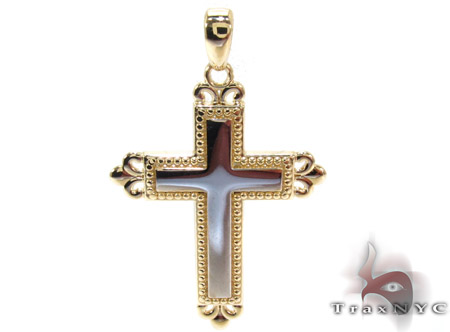 Yellow 14K Gold Cross Gold