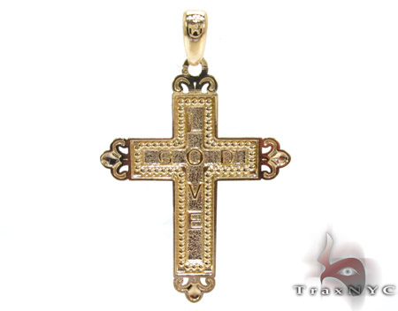 Yellow 14K Gold Cross Gold