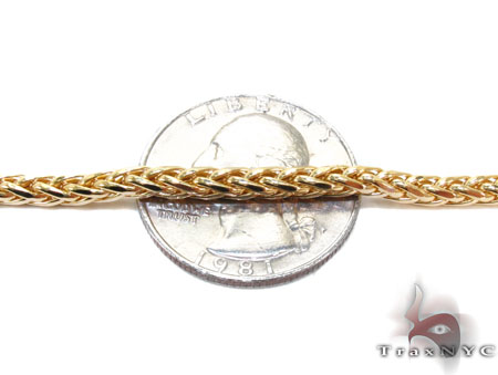 Yellow Gold Chain 16 Inches 2mm 5.9 Grams Gold