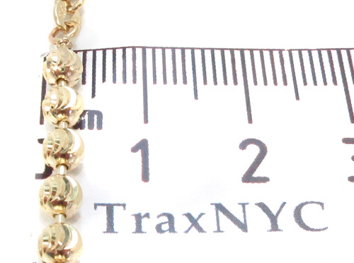 Yellow Gold Disco Ball Chain 30 Inches 4mm 32.0 Grams Gold