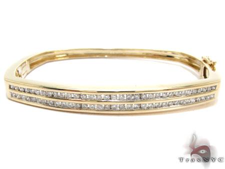 Bangle Bracelets Gold Diamond Bangle Bracelet