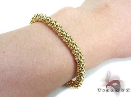 Yellow Silver Bracelet Silver