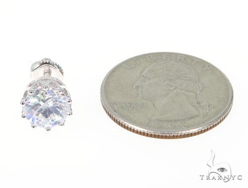 Silver Earrings 45030 Metal