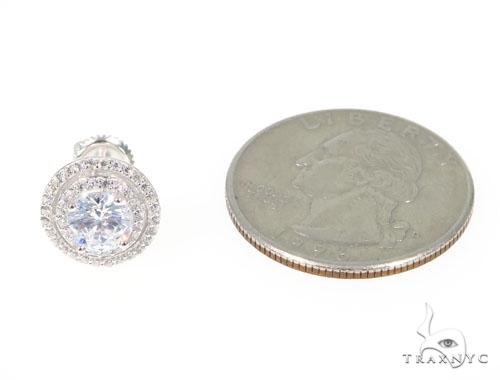 Silver Earrings 45036 Metal