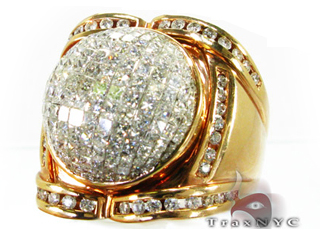 Princess Globe Ring Mens Diamond Rings