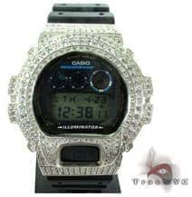 Silver CZ G-Shock Case G-Shock Watches