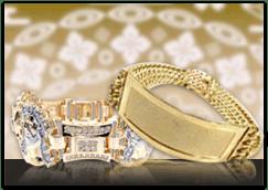 Gold Mens Bracelets