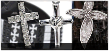 Sterling Silver Cross Charms